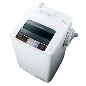 日立 NW-80A-W 全自動洗濯機 (洗濯8.0kg)「白い約束」 ピュアホワイト