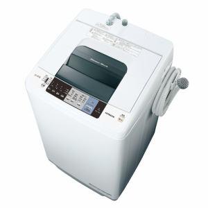 日立 NW-70A-W 全自動洗濯機 (洗濯7.0kg)「白い約束」 ピュアホワイト