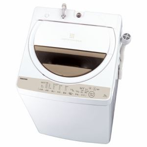 東芝 AW-6G5(W) 全自動洗濯機(洗濯6.0kg) グランホワイト