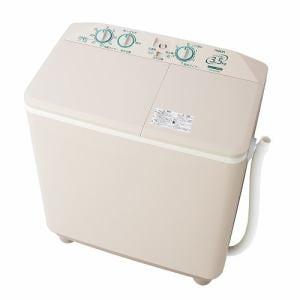 AQUA AQW-N351-HS 二槽式洗濯機 (3.5kg) ソフトグレー