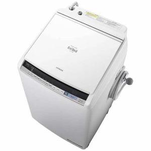 日立 BW-DV80B-W 洗濯乾燥機 (洗濯8.0kg/乾燥4.5kg) 「ビートウォッシュ」 ホワイト
