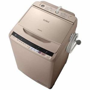 日立 BW-V100B-N 全自動洗濯機 (洗濯10.0kg) 「ビートウォッシュ」 シャンパン