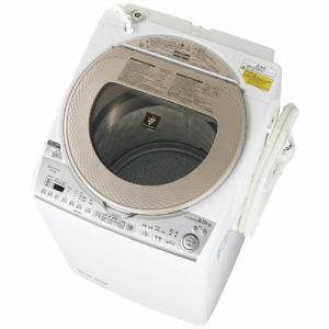 シャープ ES-TX8B-N 洗濯乾燥機 (洗濯8.0kg/乾燥4.5kg) ゴールド系