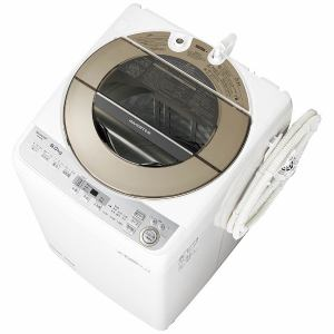 シャープ ES-GV9B-N 全自動洗濯機 (洗濯9.0kg) ゴールド系