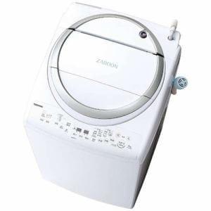 東芝 AW-8V6(S) 洗濯乾燥機 (洗濯8.0kg/乾燥4.5kg) メタリックシルバー