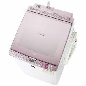 シャープ ES-PX8B-P プラズマクラスター洗濯乾燥機 (洗濯8.0kg/乾燥4.5kg) ピンク系