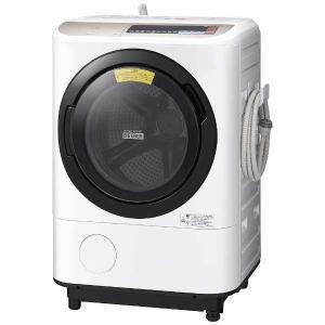 日立 BDNX120BL-N ドラム式洗濯乾燥機 (洗濯12.0kg/乾燥6.0kg・左開き) 「ヒートリサイクル 風アイロン ビッグドラム」 シャンパン
