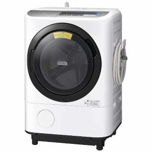 日立 BDNX120BL-S ドラム式洗濯乾燥機 (洗濯12.0kg/乾燥6.0kg・左開き) 「ヒートリサイクル 風アイロン ビッグドラム」 シルバー