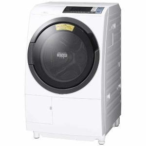 日立 BDSG100BL-W ドラム式洗濯乾燥機 (洗濯10.0kg/乾燥6.0kg・左開き) 「ヒートリサイクル 風アイロン ビッグドラム」 ホワイト