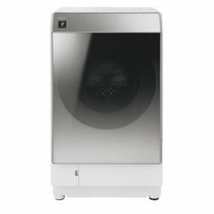 シャープ ES-P110-SL ドラム式洗濯乾燥機 (洗濯11.0kg/乾燥6.0kg・左開き) シルバー系