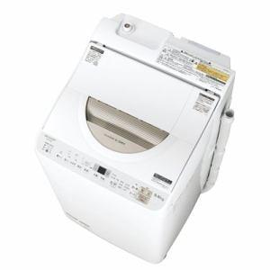 シャープ ES-TX5B-N 洗濯乾燥機 (洗濯5.5kg/乾燥3.5kg)ゴールド系