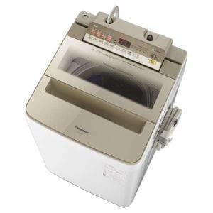 パナソニック NA-FA80H6-N 全自動洗濯機 (洗濯8.0kg) シャンパン