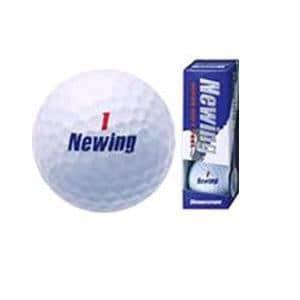 ブリヂストン NAWX Newing SUPER SOFT FEEL 【ボール】 1スリーブ(3球) ホワイト