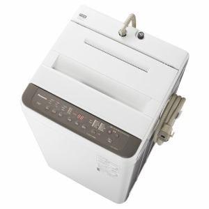 洗濯機 パナソニック 7KG NA-F70PB14-T 全自動洗濯機 (洗濯7kg) ニュアンスブラウン
