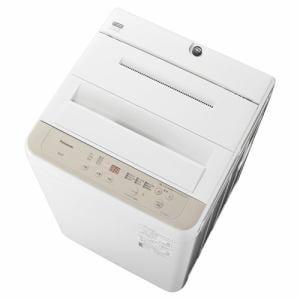パナソニック NA-F60B14-C 全自動洗濯機 (洗濯6kg) ニュアンスベージュ