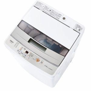 AQUA AQW-S45J(W) 簡易乾燥機能付き洗濯機 (洗濯4.5kg) ホワイト