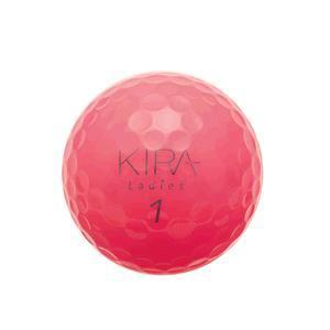 キャスコ KIRA Ladies 【ゴルフボール】 1ダース(12球) ピンク