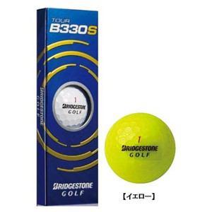 ブリヂストン BRIDGESTONE GOLF TOUR B330S 【ゴルフボール】 1スリーブ(3球) イエロー