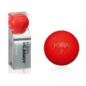 キャスコ KIRA KLENOT 【ゴルフボール】 2014年モデル 1スリーブ(3球) ルビー
