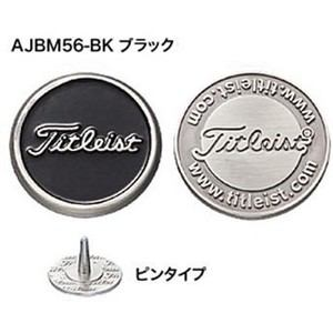 タイトリスト ボールマーカー AJBM56 【マーカー】 ブラック