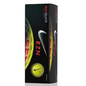 ナイキ RZN ブラック GL0669-701 【ゴルフボール】 1スリーブ(3球入り) イエロー