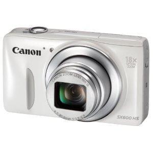 Canon コンパクトデジタルカメラ PowerShot SX600 HS ホワイト PSSX600HS(WH)