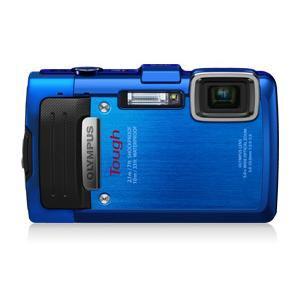 Olympus コンパクトデジタルカメラ 「OLYMPUS STYLUS TG-835 Tough」ブルー TG835 BLU