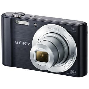 SONY デジタルスチルカメラ Cyber-shot(サイバーショット) ブラック DSC-W810(B)