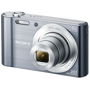 SONY デジタルスチルカメラ Cyber-shot(サイバーショット) シルバー DSC-W810(S)