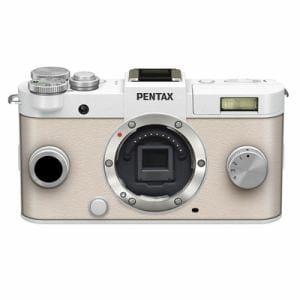 ペンタックス 一眼カメラ(ピュアホワイト)ボディ レギュラーカラー PENTAX Q-S1
