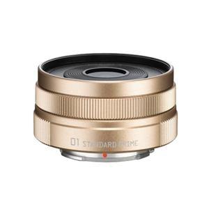ペンタックス 01 STANDARD PRIME 交換用レンズ (8.5mm F.9)(シャンパンゴールド)オーダーカラー