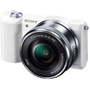 ソニー デジタル一眼カメラ α5100 パワーズームレンズキット (ホワイト) ILCE-5100L-W