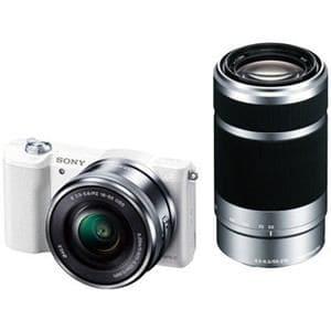 ソニー デジタル一眼カメラ α5100 ダブルズームレンズキット (ホワイト) ILCE-5100Y-W