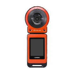 カシオ EXILIM(エクシリム) デジタルカメラ (オレンジ) EX-FR10-EO