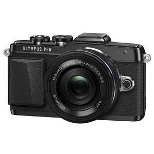 オリンパス デジタル一眼カメラ EZレンズキット (ブラック) PEN Lite E-PL7(ブラック)