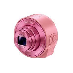 SONY Cyber-shot(サイバーショット) デジタルカメラ レンズスタイルカメラ ピンク DSC-QX10-P