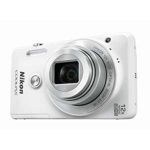 ニコン デジタルカメラ COOLPIX S6900 (ナチュラルホワイト) S6900-WH