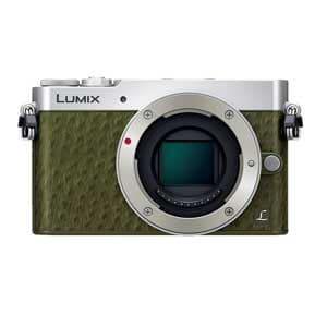 【処分品】 パナソニック DMC-GM5-G デジタル一眼カメラ LUMIX(ルミックス) GM5 ボディ グリーン