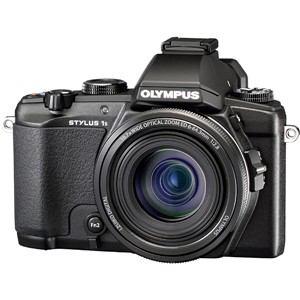 オリンパス コンパクトデジタルカメラ スタイラス 1S ブラック STYLUS-1S-BLK