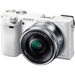 ソニー デジタル一眼カメラ α6000 パワーズームレンズキット (ホワイト) ILCE-6000L-W