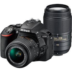 ニコン デジタル一眼カメラ D5500 ダブルズームキット (ブラック) D5500WZ-BK