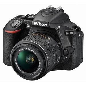 ニコン デジタル一眼カメラ D5500 18-55 VR II レンズキット (ブラック) D5500LK-BK