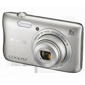 ニコン デジタルカメラ COOLPIX S3700(シルバー) S3700-SL