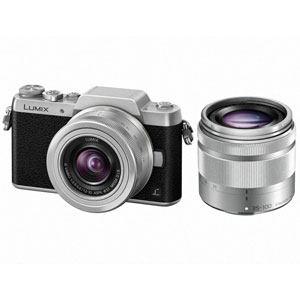 パナソニック LUMIX(ルミックス) デジタル一眼カメラ ダブルズームレンズキット シルバー DMC-GF7W-S
