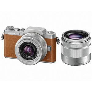 パナソニック LUMIX(ルミックス) デジタル一眼カメラ ダブルズームレンズキット ブラウン DMC-GF7W-T