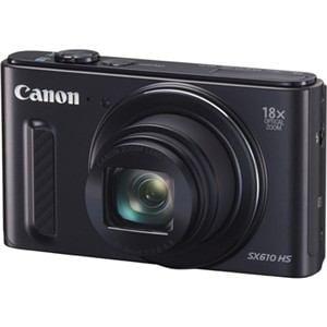キヤノン デジタルカメラ PowerShot(パワーショット) SX610 HS ブラック PSSX610HS(BK)【ヤマダウェブコム限定特典付き】