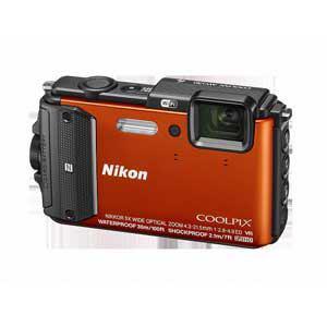 ニコン デジタルカメラ COOLPIX AW130(オレンジ) AW130OR