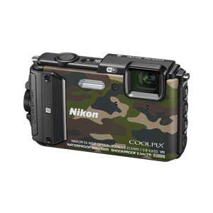 ニコン デジタルカメラ COOLPIX AW130(カムフラージュグリーン) AW130GR