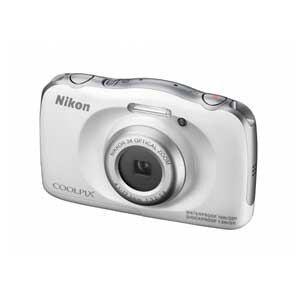 ニコン デジタルカメラ COOLPIX S33(ホワイト) S33WH