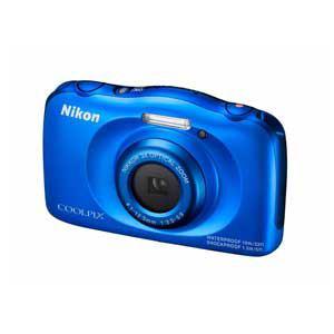 ニコン デジタルカメラ COOLPIX S33(ブルー) S33BL